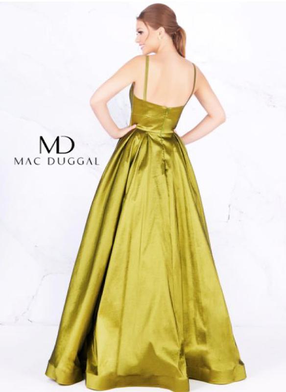 Mac Duggal Metallic Ball Gown
