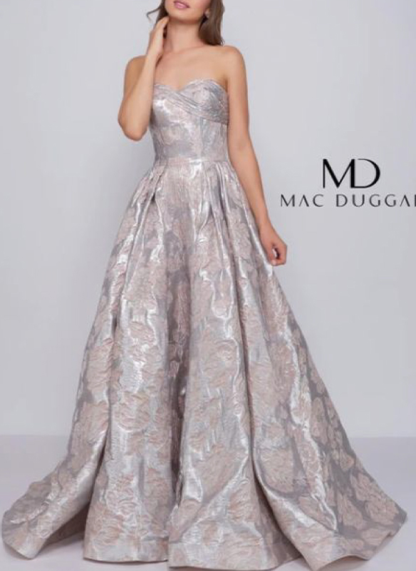 Mac Duggal Strapless Ball Gown
