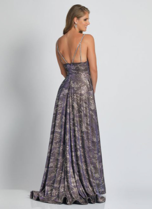 Dave and Johnny Printed Gown