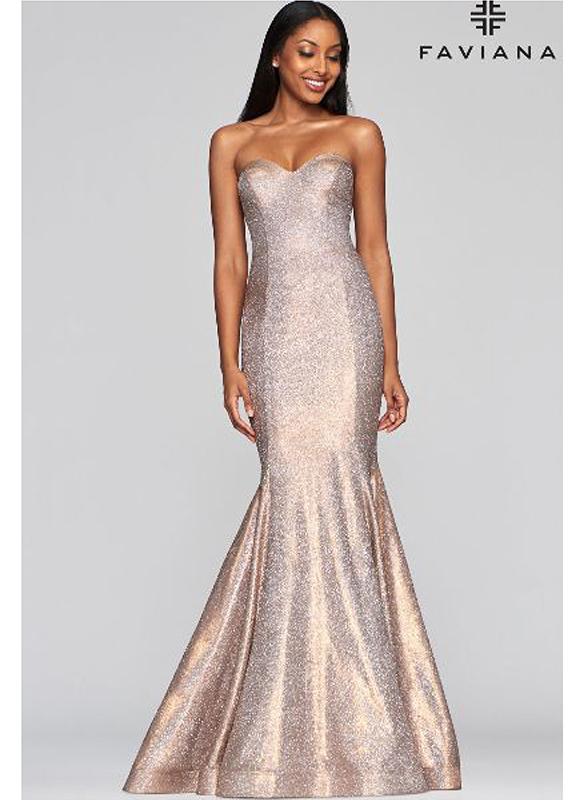Faviana Mermaid Gown