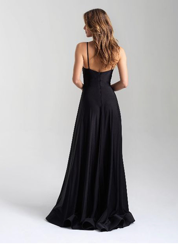 Madison James A-line Gown – Black