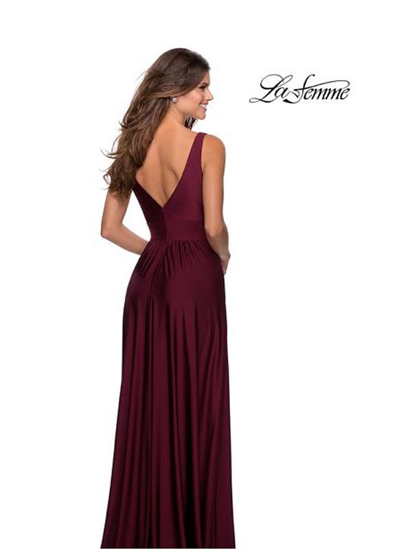 La Femme Jersey Gown
