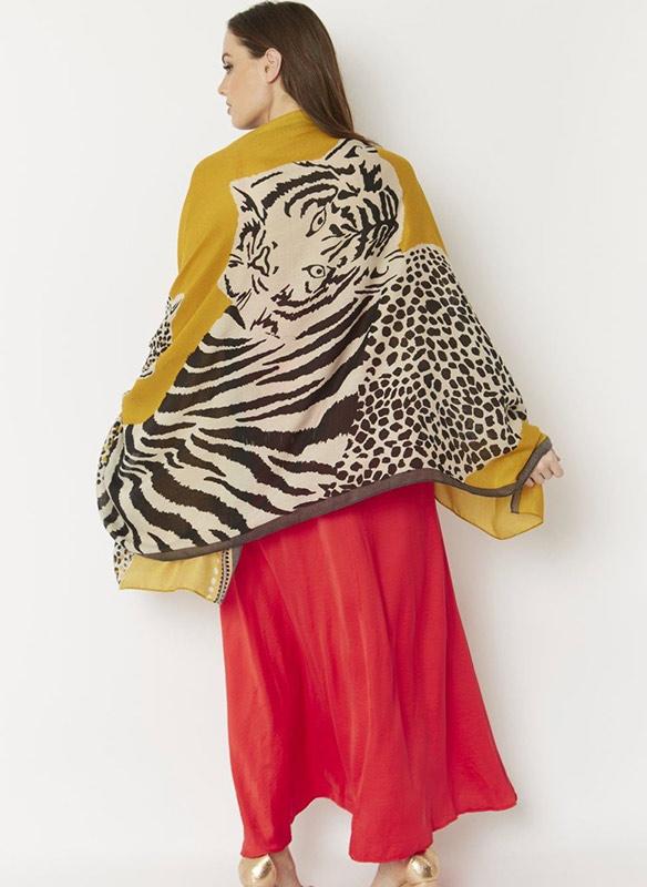 Jayley Silk Cashmere Blend Wrap