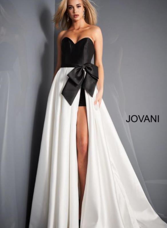 Jovani Gown With Shorts
