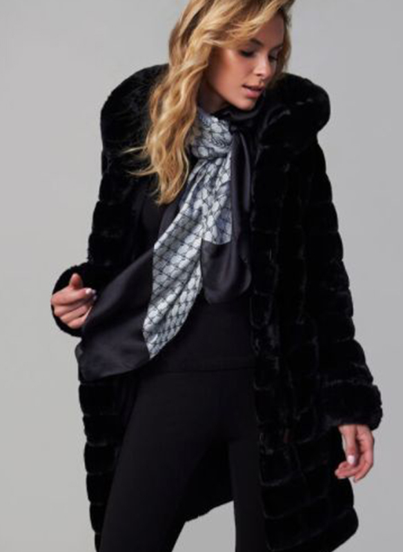 Nuage Reversible Faux Fur Coat