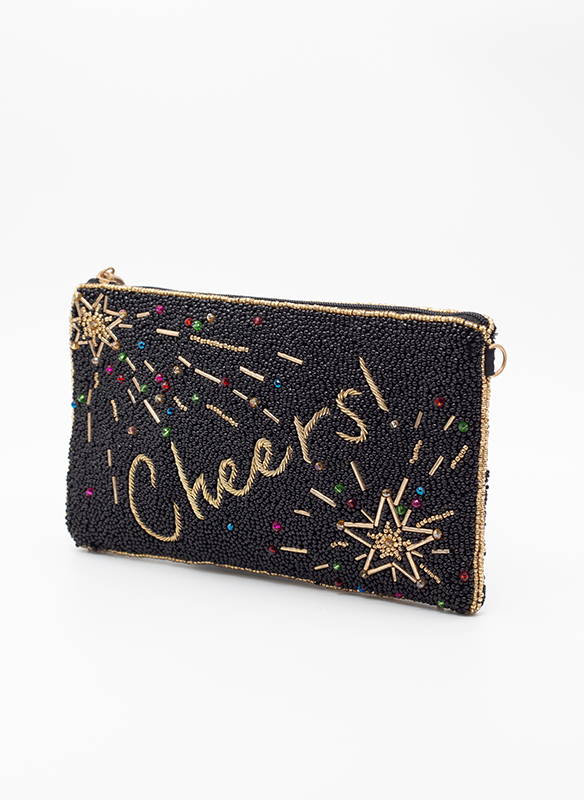 Mary Frances Cheers Crossbody Cell Phone Bag
