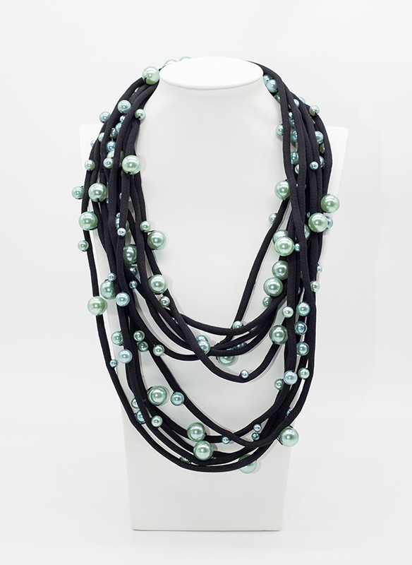 Jianhui Multi Strand Corded Necklace