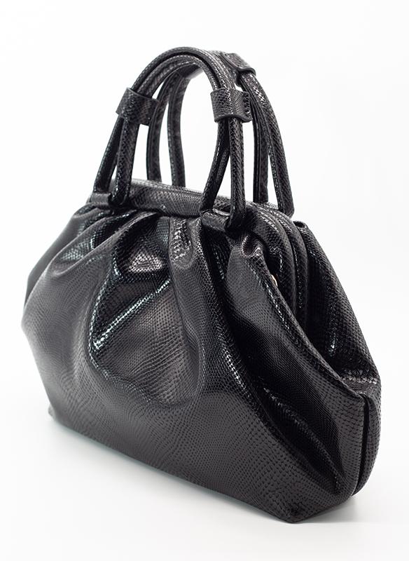Urban Expressions Vegan Snakeskin Leather Bag