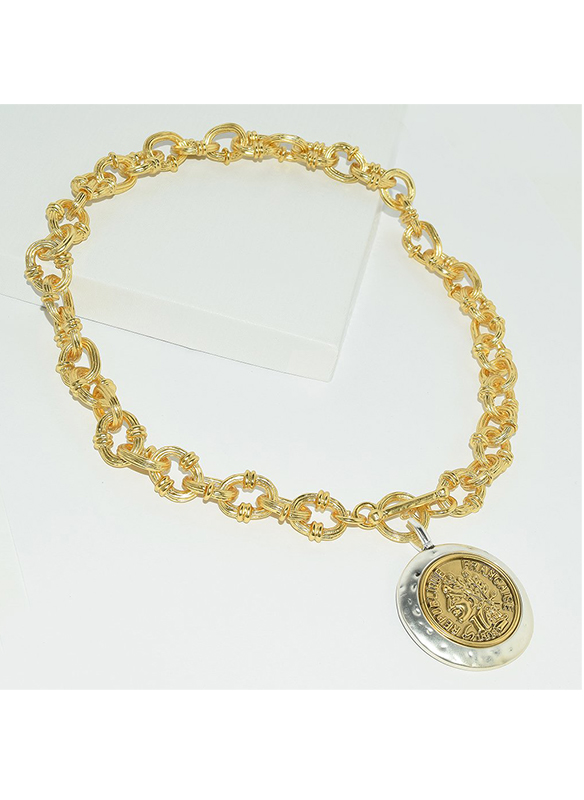 Karina Sultan Gold Coin Necklace