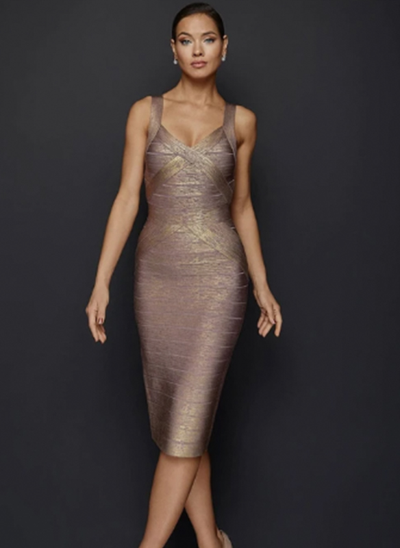 Terani Bandage Cocktail Dress