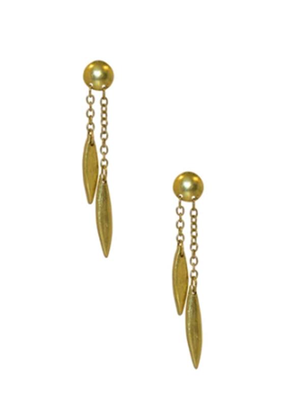 Karina Sultan Gold Drop Earrings