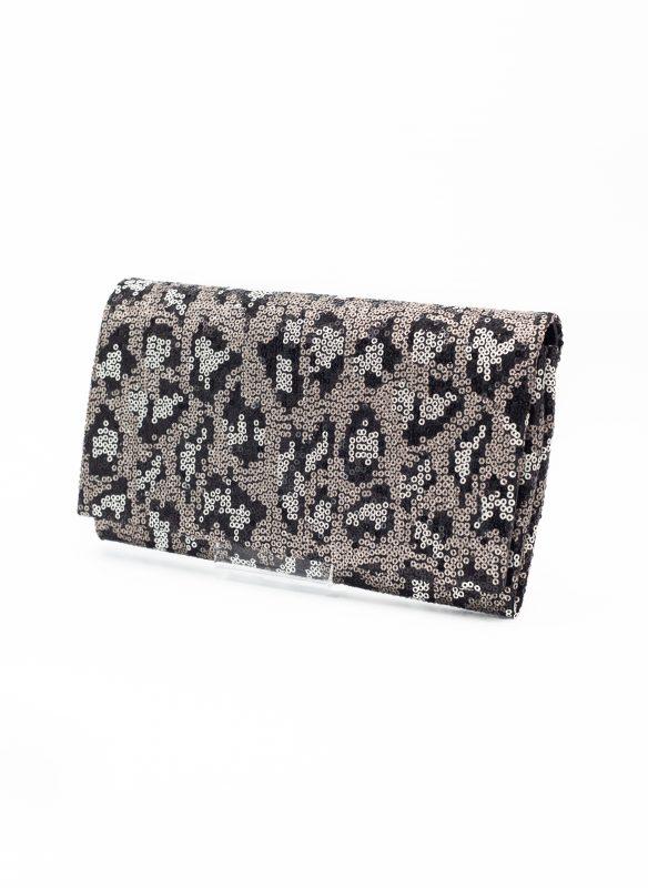 Sondra Roberts – Leopard Clutch Bag