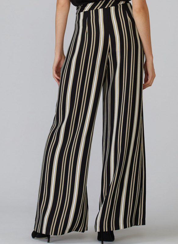 Joseph Ribkoff Wide Leg Striped Pant