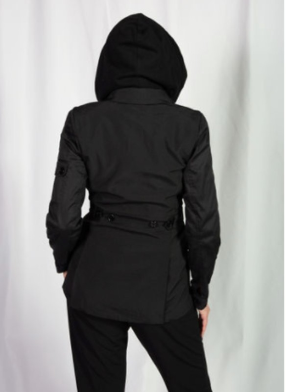 Fate Hooded Shirt Jacket