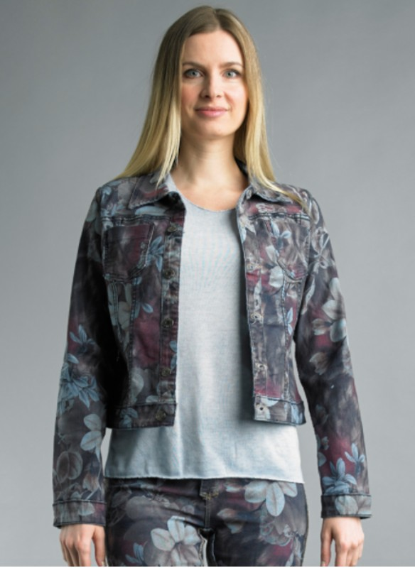 Tempo Paris Reversible Floral Print Jacket