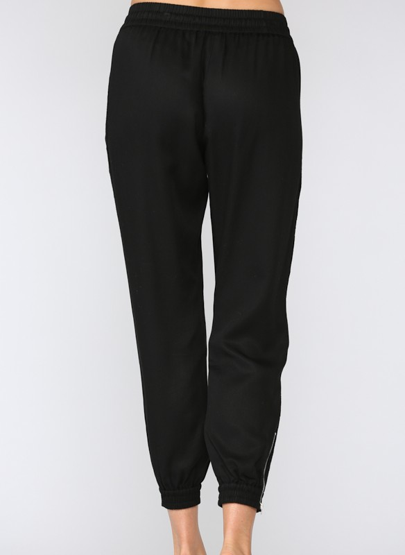 Fate Tencel Jogger Pant With Zippers