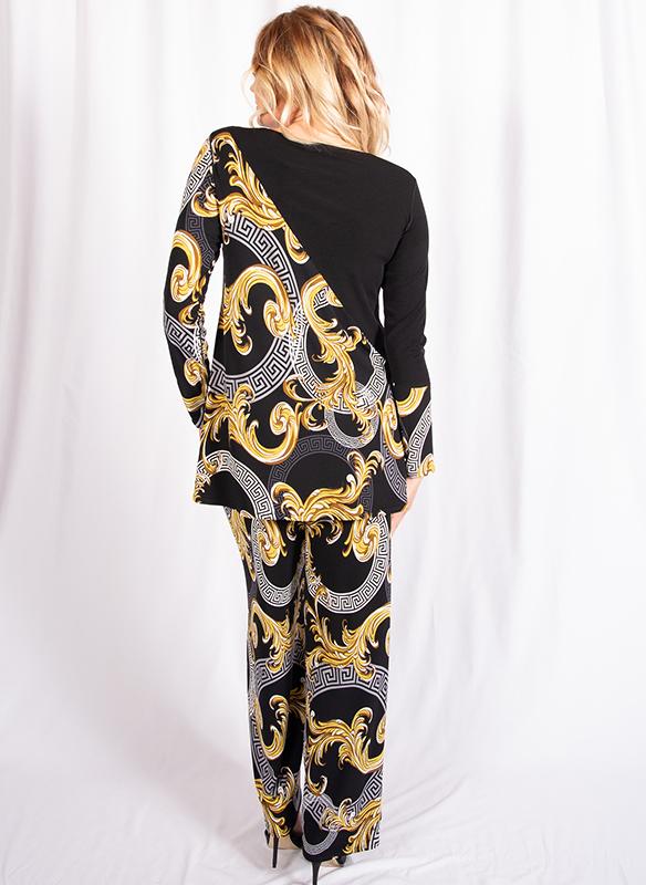 Eva Varro A-Line Print Tunic