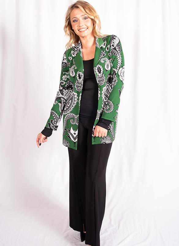 Eva Varro Print Cardigan Jacket