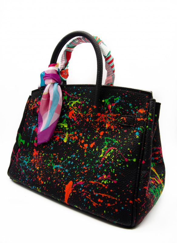 Anca Barbu Brights Designer Logos Bag