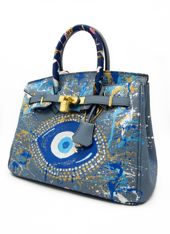 Anca Barbu Evil Eye Bag I