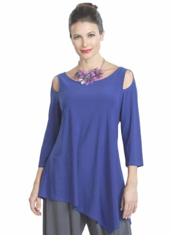 IC Collection Cold Shoulder Tunic