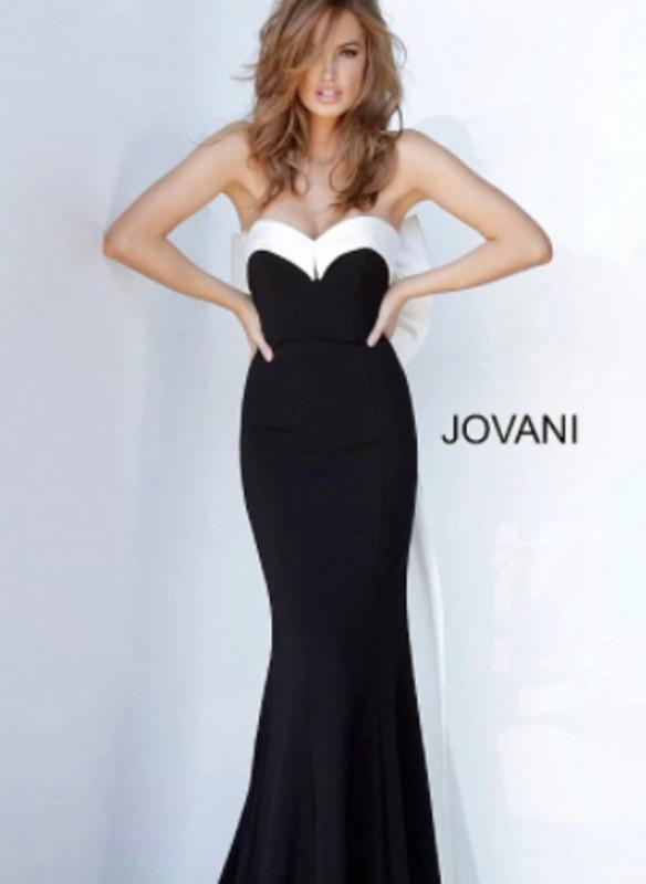 JVN Strapless Dress