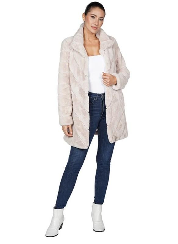 Love Token Misty Faux Fur Jacket