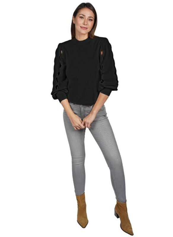 Love Token Ophelia Cut Sleeve Sweater