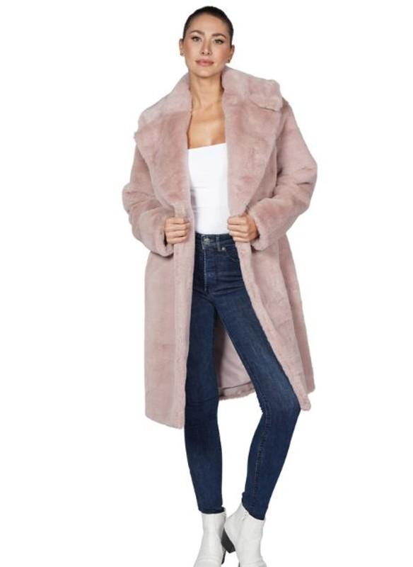 Love Token Palmer Long Faux Fur Coat