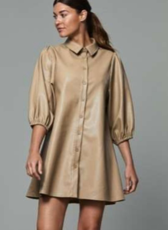 Dolce Cabo Vegan Leather Tunic